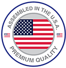 Assembled in the USA logo